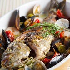 市場直送鮮魚をお好みの調理法で
