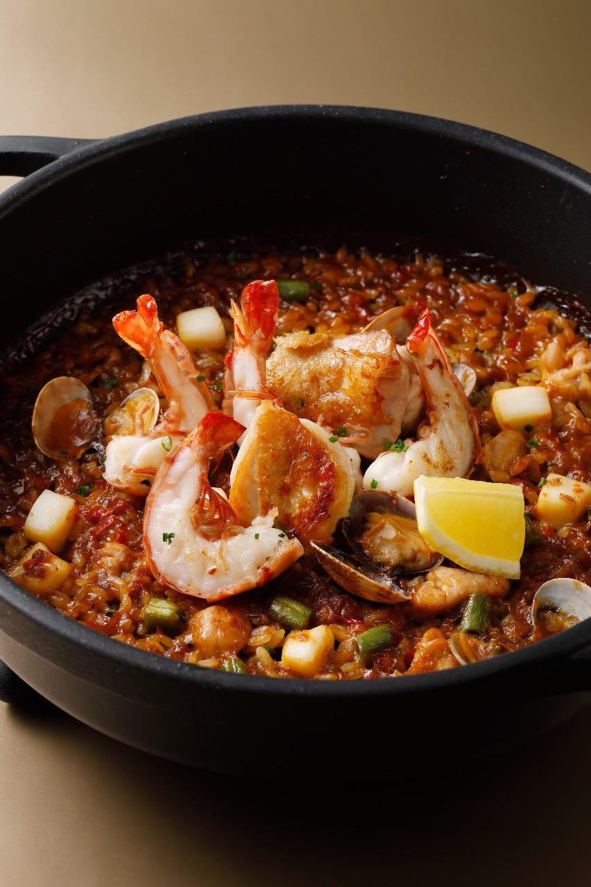 ◆スペインの伝統&旬の食材のコース