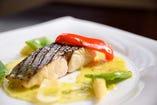 例 お魚料理