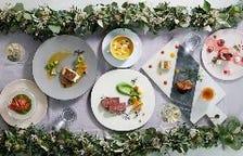 厳選食材を使用した季節のコース
