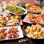 浜松でのご宴会に最適な飲み放題付宴会コースをご用意致します!