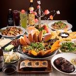 【2時間食べ飲み放題付】迷ったらこれ!熱々の餃子や豊富な中華料理が味わえる食べ放題コース〈全70品〉3,280円(税抜)