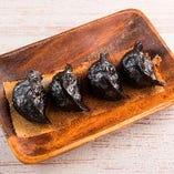 黒焼き餃子