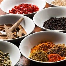 現地調達!10数種の香辛料を使用
