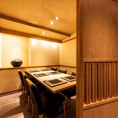 日本料理 銀座 一  店内の画像