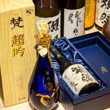 季節の食材を美酒と共に嗜む。