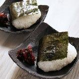 おにぎり【鮭・梅】