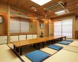 ◆三階 お座敷◆ 二間続き14畳を8~10名様でご利用の場合