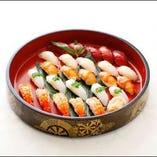 握り寿司盛り合わせ(5人前)