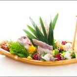 舟盛り(5種盛り・5人前)