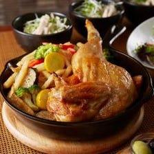 中村屋指定飼育鶏のローストチキン