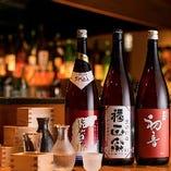 【和食×個室居酒屋】 こだわりのお酒をご用意致しました