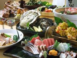 毎日仕入れる新鮮な鮮魚と旬の食材をご堪能ください
