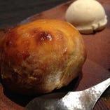 人気デザート「栗チーズパイ」