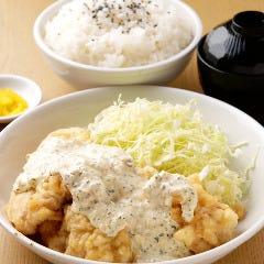 【W】チキン天ぷら定食
