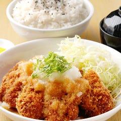 【W】和風おろしチキンかつ定食