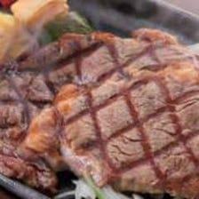ランチで気軽にステーキを♪