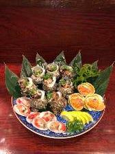 七輪焼で楽しむ鮮度抜群の魚介類