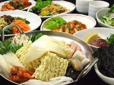 【2.5時間飲み放題付】◇◆お好み鍋コース◆◇大人気の韓国鍋6種類の中からお好きな鍋をお選び頂けます♪