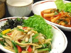 五目野菜のチャプチェ