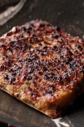 自家製白味噌に蕎麦の実やねぎを練りこみ焼き上げた絶品料理