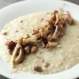 ポルチーニの豊かな香りと、雑穀米の食感が美味しい『21穀米と茸のリゾット ポルチーニ風味』