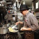 イタリアで修業した中西シェフの作る料理は本格派