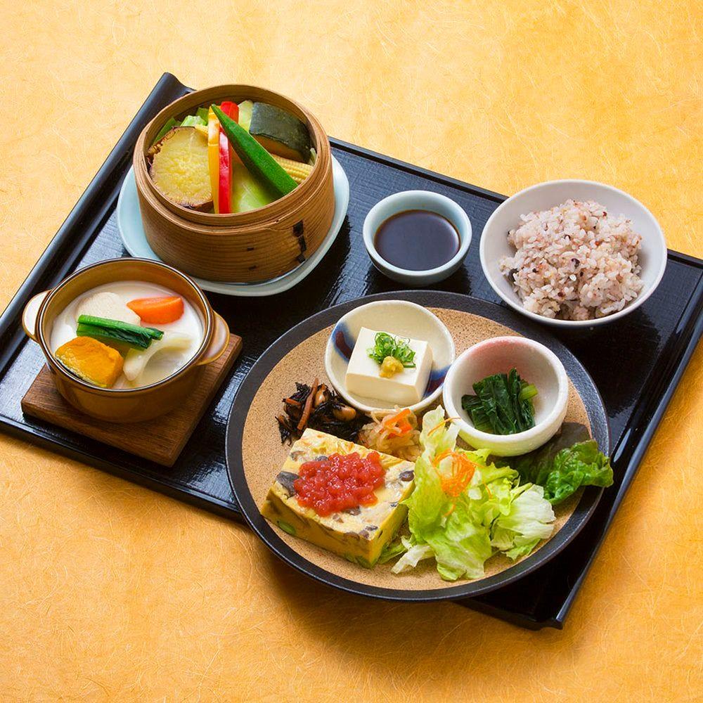 健康お野菜ランチ(ふくさ蒸し) 税込1,490円