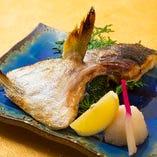 本日の鮮魚カマ焼き