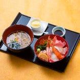 特選・海鮮丼セット