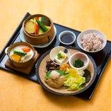 健康お野菜ランチ(豆腐ハンバーグ)