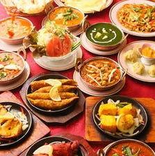 本格インド料理を堪能