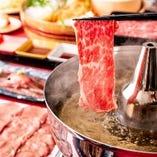 この季節定番の鍋、しゃぶしゃぶ食べ放題を低価格で実現◎
