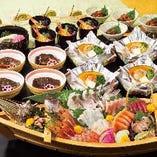 旬素材や鮮魚を堪能!飲み放題付きコース3,980円からご用意