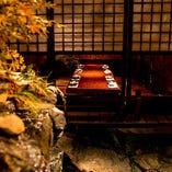 ご接待や会食など、プライベート感を重視したいお集まりに最適な個室(10席×1部屋)