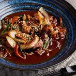 「豚肉と茄子のスタミナ炒め」