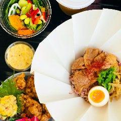 蕾雑穀米+鶏塩唐揚げ