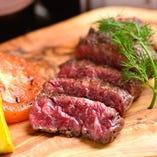脂身もあり柔らかく肉肉しさをとても楽しめる部位「ハラミ」