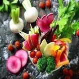 厳選した新鮮なお野菜たち【愛知県を中心に全国から仕入れ】