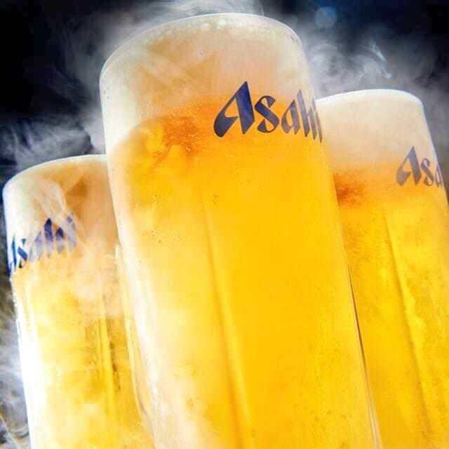 生ビール付き飲み放題1,628円(税込)