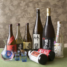 明石の銘酒など地酒を多数ご用意