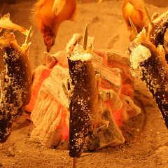 岩魚の珠洲天然塩焼き