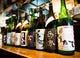 全国各地から取り寄せた地酒。常時50種ほど用意しております。