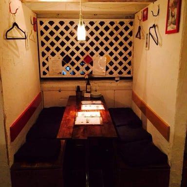 美味い肉の隠れ家イタリアン ブルードアーズ 本八幡店 店内の画像