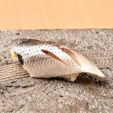 《旬のお寿司と料理を共に》おまかせ握りコース
