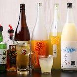 〈ドリンク〉 お酒に強い方も弱い方も大満足の品揃えです!