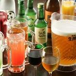 多種多彩なお酒をご用意