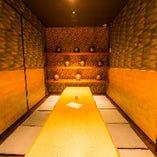 [完全個室] 12名様までの座敷完全個室は予約必須の超人気席!