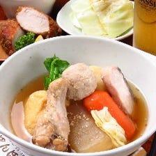【●満腹すぅぷ】肉・野菜・魚が一度に楽しめる♪おでん風入門ちゃんこ!