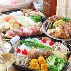 ◆パーティーセット◆専門店の鍋とからあげの大人気セット!ご自宅で記念日・誕生日・ホームパーティーで